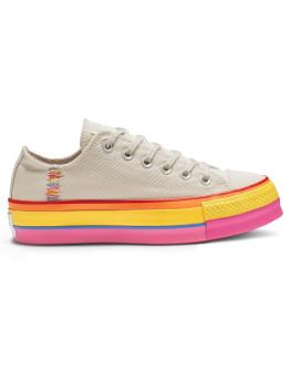 Converse Lifestyle Lift Rainbow Trainers Ladies