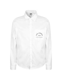 Karl Lagerfeld Boys Logo Skool Pocket Shirt