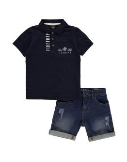 Firetrap 2 Piece Shorts Set Infant Boys