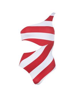 Tommy Bodywear OS Stripe Swimsuit
