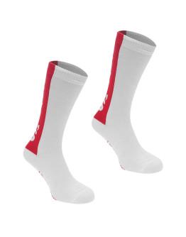 Levis 2 Pack Tab Logo Crew Socks