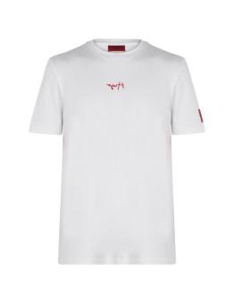 Hugo Dumed Signature Logo T Shirt